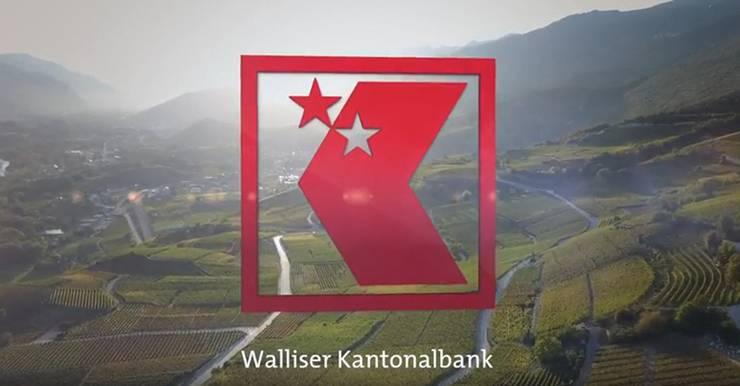 Andere KBs haben ihre Logos schon längst abgewandelt, etwa die Walliser Kantonalbank, die Sternlein integriert hat ...