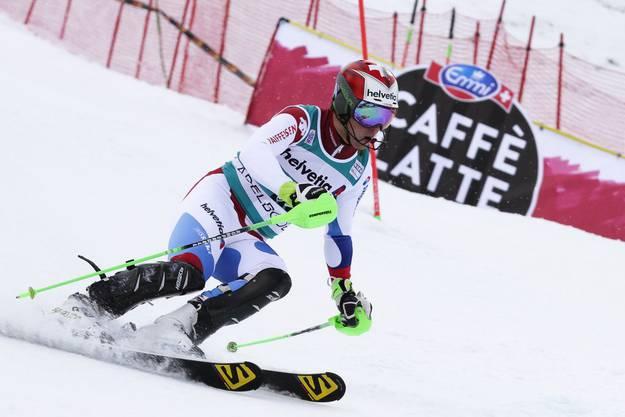Luca Aerni war mit einem starken Lauf bester Schweizer auf Rang 19.