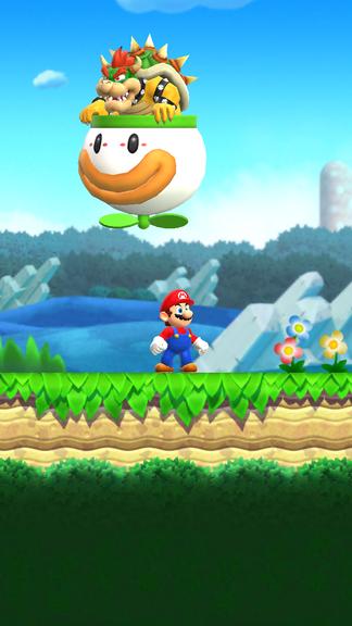 Super Mario im neuen Spiel