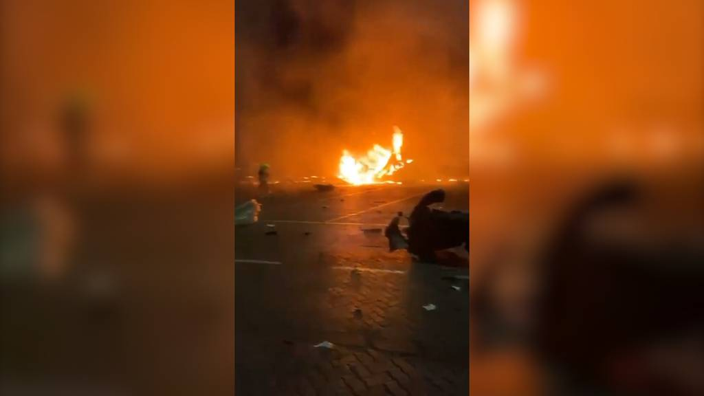 Explosion erschüttert Hafen von Dubai