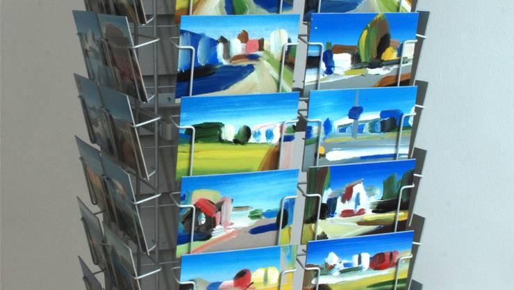 Postkartenansichten aus Wohlen von Andreas Hofer.