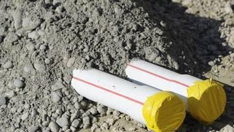 Rohre auf einer Baustelle (Symbolbild)