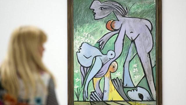 """""""Le sauvetage"""": eines der Werke Picassos in Basel"""