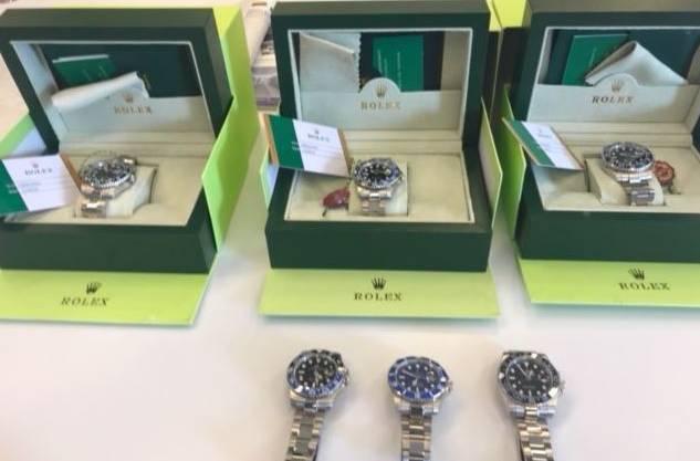 Hochstehende Uhrenfälschungen aus dem Fernost.