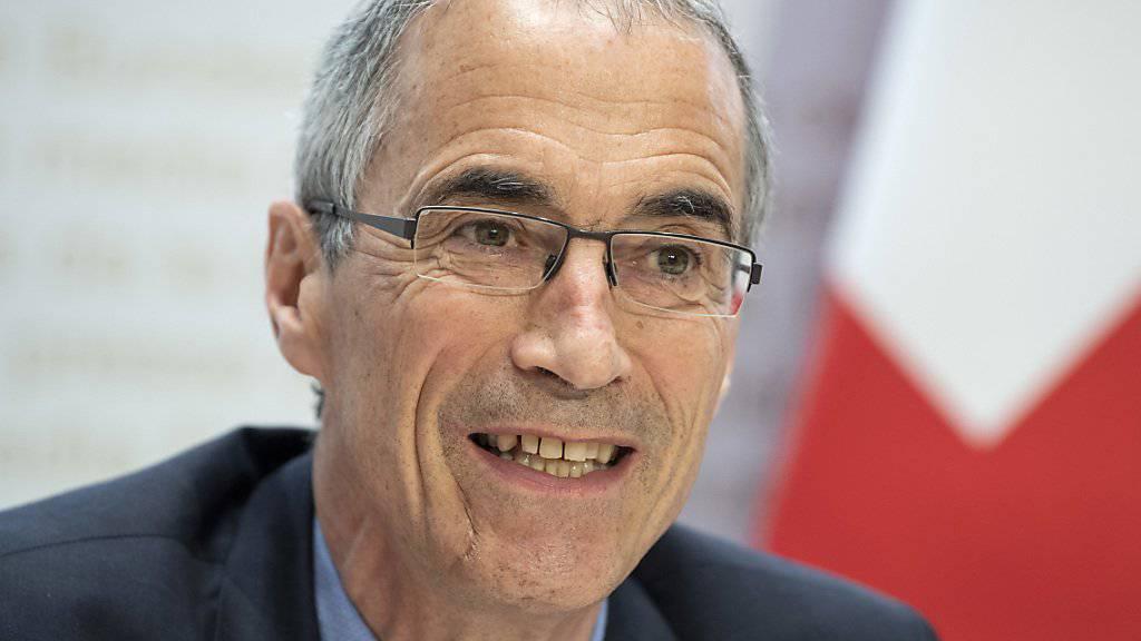 Der Direktor der Eidgenössischen Finanzdirektion, Serge Gaillard, sieht bei der Lohnhöhe kein Problem im öffentlichen Bereich, eine Kaderstelle zu besetzen. (Archivbild)