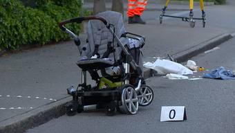 Die Mutter wurde mittelschwer, die Kinder leicht verletzt.