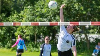 Jaqueline Fedier und ihre Teamkolleginnen des STV Oberentfelden-Amsteg beenden die Vorrunde in der NLA auf Rang 2.