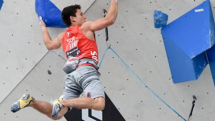 Sascha Lehmann gewinnt EM-Bronze im Lead