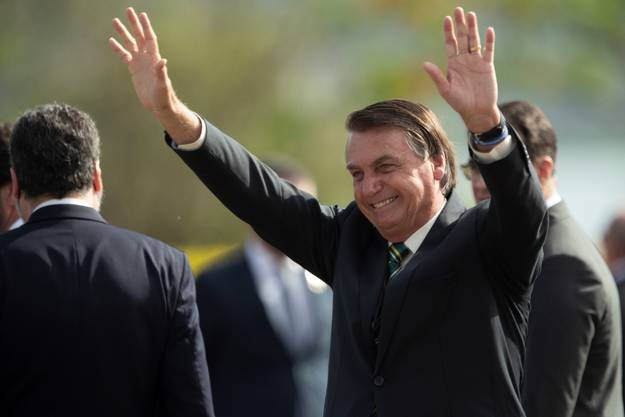 Brasiliens Präsident Jair Bolsonaro würde sich über eine Wiederwahl Donald Trumps sehr freuen. (Bild: Keystone)