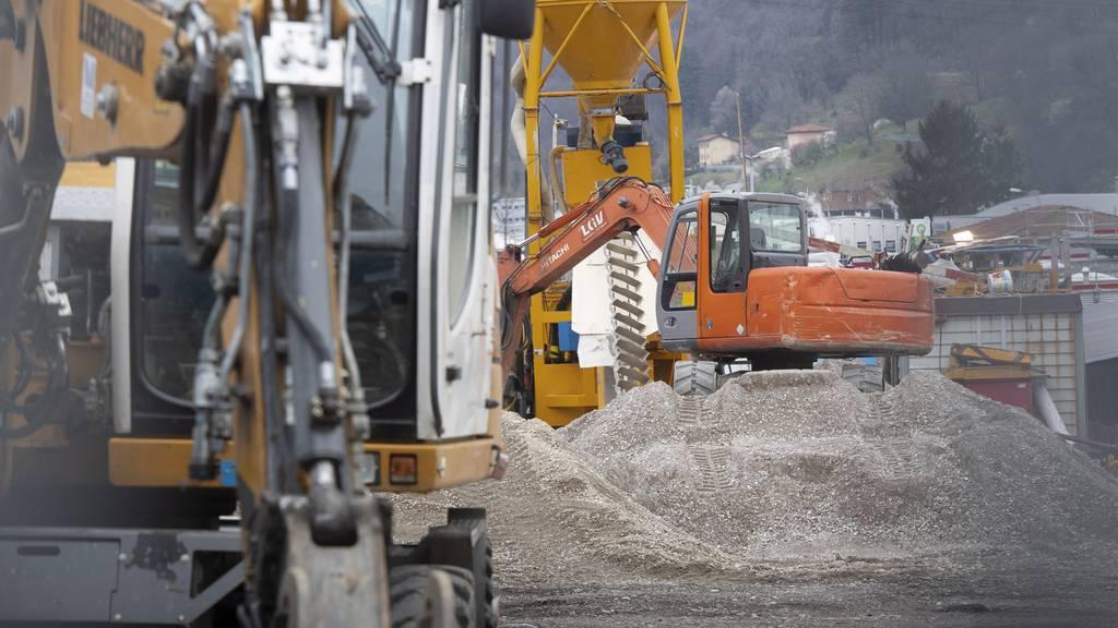 Unternehmen auf Luzerner Baustelle muss Arbeit einstellen