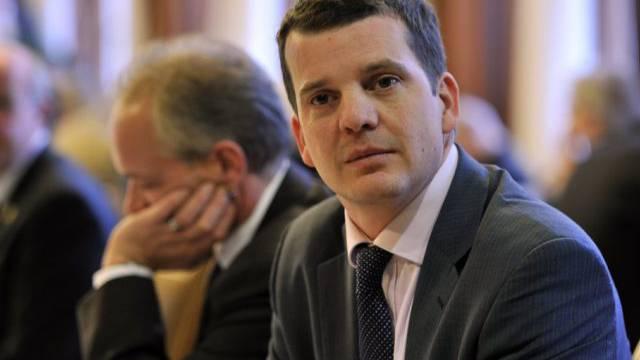 Der verurteilte Hermann Lei im Ratssaal des Thurgauer Grossen Rates