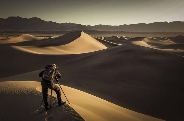 Der Mönthaler Fotograf Christoph Weisse (54) hat am liebsten Menschen, verlassene Orte und schöne Landschaften wie diese Wüste vor der Linse.
