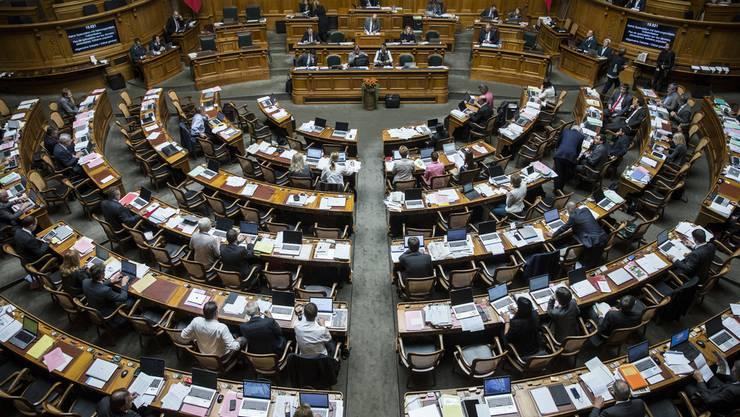 35 Zürcher sitzen in den nächsten vier Jahren im Nationalratssaal.