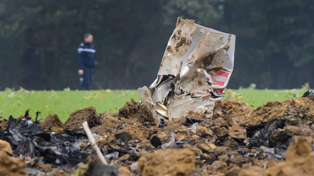 Am 14. Oktober 2015 stürzte ein Schweizer F/A-18-Kampfjet bei einem Training im französischen Jura ab. Der Pilot konnte sich retten.