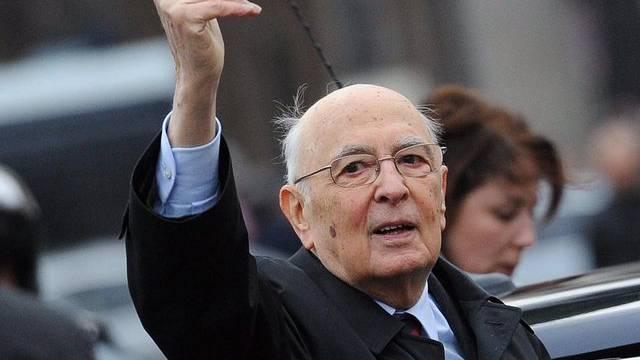 Italiens Präsident Giorgio Napolitano (Archiv)