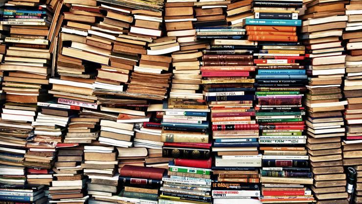 Wenn sich die Bücher stapeln.