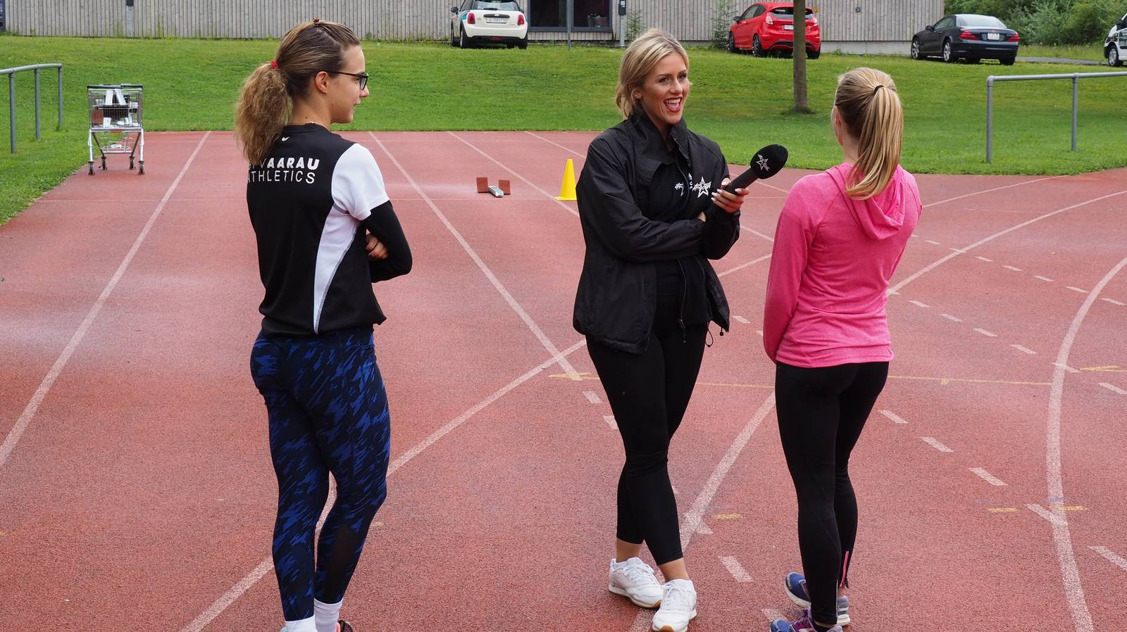 Weltklasse Zürich in Aarau - Training mit Dara & Studer (© Radio Argovia)