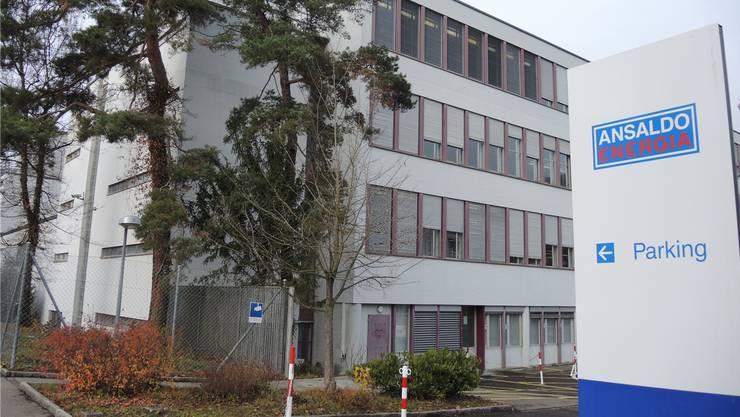 420 Angestellte werden bei Ansaldo an der Römerstrasse in Baden beschäftigt. (Archivbild)
