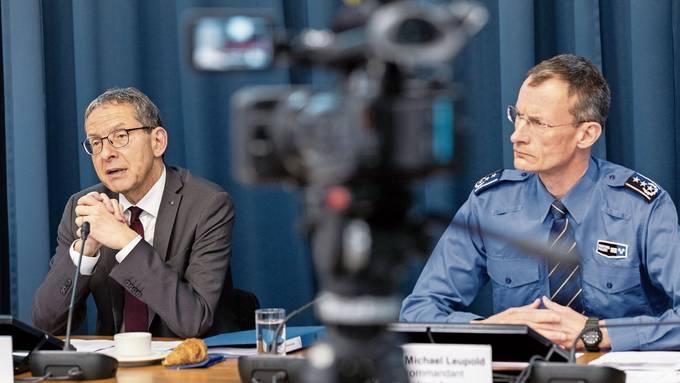 Coronavirus: Aargauer Polizeikommandant Michael Leupold infiziert (24.03.2020)