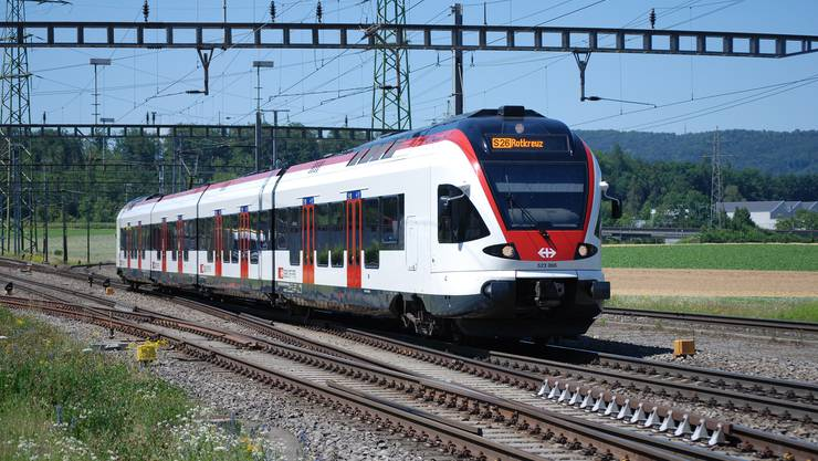 Die S26 fährt heute die Strecke Olten–Aarau–Lenzburg–Wohlen–Muri–Rotkreuz.
