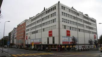 Wären zu haben: Die drei untersten Geschosse des Geschäftshauses an der Wengistrasse 17.
