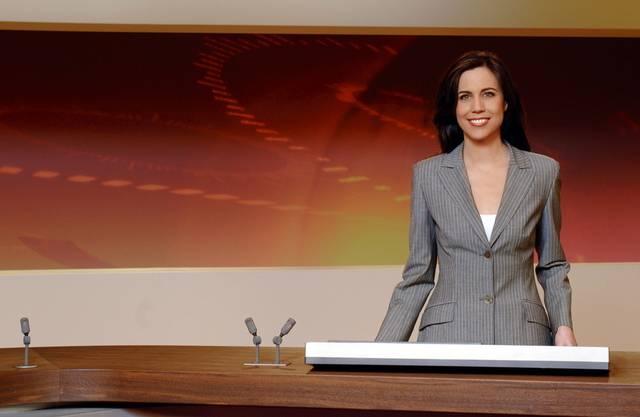 """Zehn Jahre lang moderierte Susanne Wille """"10 vor 10"""" (Bild SRF)"""