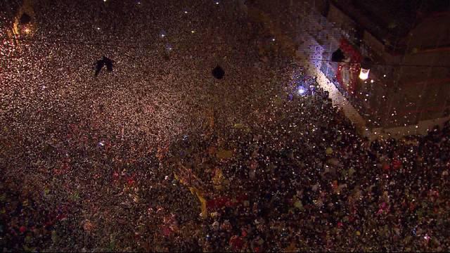 """Rund 15`000 Leute feierten den """"Urknall"""""""
