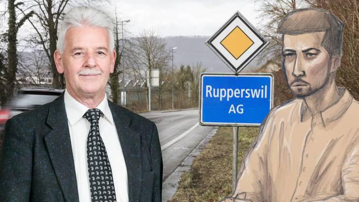 Gefängnis-Leiter Bruno Graber erzählte im Fernsehen, dass ihm Thomas N. gesagt habe, er fände es fantastisch, wie nett man in Lenzburg zu ihm sei. (Montage)