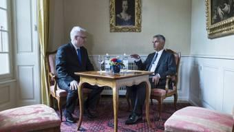 Kroatiens Präsident Josipovic und Burkhalter im Lohn