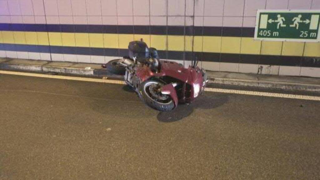Motorradfahrer bei Selbstunfall in Silenen UR verletzt