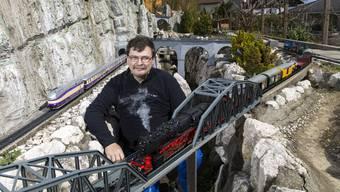 Markus Probst und seine Eisenbahnen