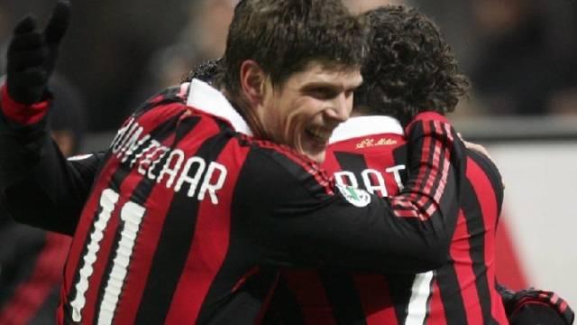 Huntelaar (l.) und Pato trafen für Milan