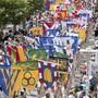 Auch der Kantons Solothurn wird in Vevey an der Fête des Vignerons einen Auftritt haben. Hier ein Bild von der Eröffnungsparade. (Archiv)