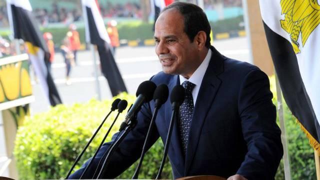 Ägyptens Präsident Abdel Fattah al-Sisi bei einer Rede in Kairo