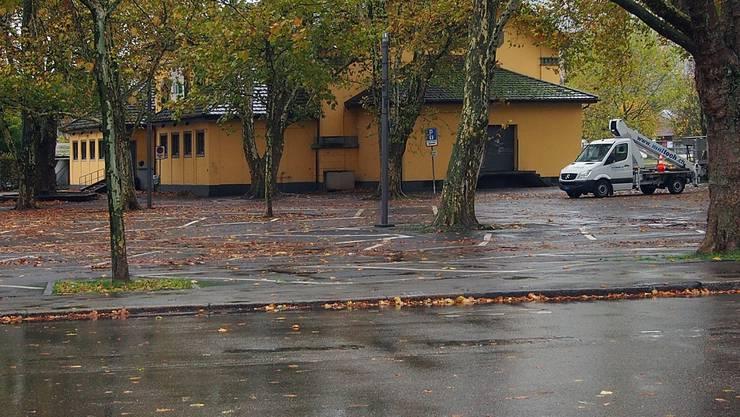 Bushaltestelle Schützenmatte stadteinwärts: wird voraussichtlich noch im November realisiert. Bruno Kissling