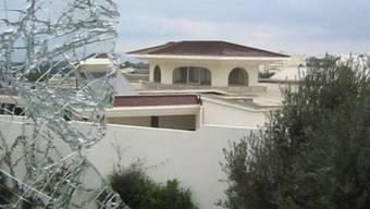 Auch diese Villa in Tunis eines Bruders der Präsidentengattin wurde geplündert