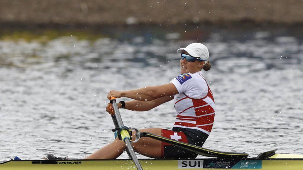 Jeannine Gmelin lief es im ersten Wettkampf der Saison nicht wie gewünscht