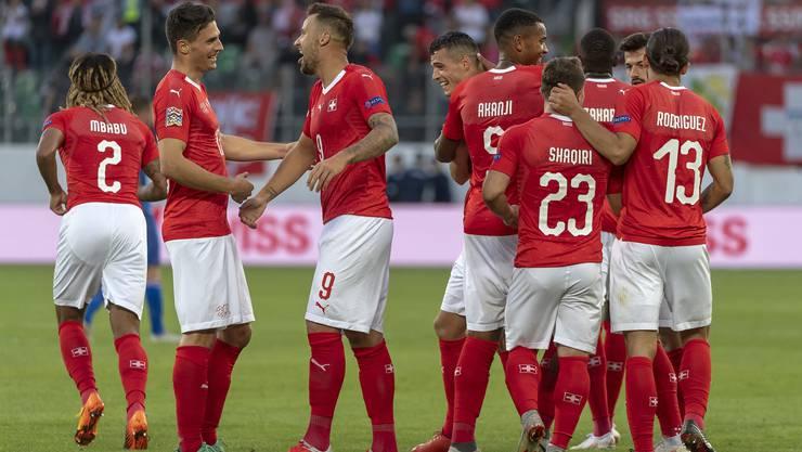 Mit der 6:0 Gala gegen Island setzte die Schweiz ein imposantes Zeichen.