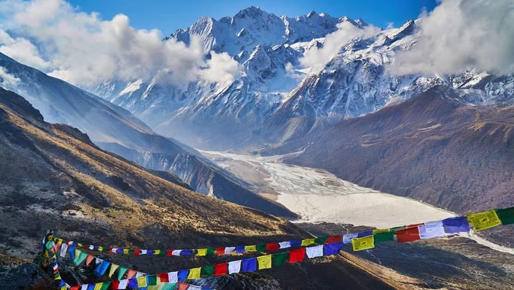 Im Langtang-Tal gibt es verhältnismässig einfache Trekkingrouten. Die Berglandschaft ist dennoch beeindruckend.