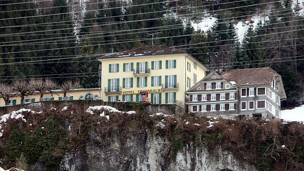 Der Kanton soll das Asyl-Durchgangszentrum in Morschach kaufen. (Archivbild)
