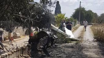 Crash von Flugzeug und Hubschrauber über Mallorca