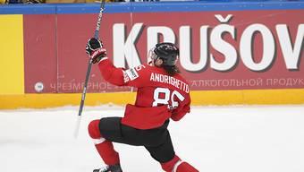 Sven Andrighetto freut sich über das 1:0