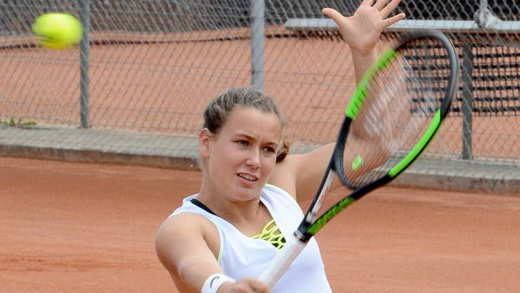 Die Zofinger Teamleaderin Ylena In-Albon holte bei ihrem ersten Einsatz in der laufenden NLB-Meisterschaft einen Punkt.