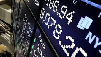 Tafel an der New York Stock Exchange