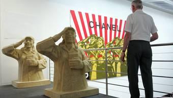 Ausstellungen mit Werken chinesischer Künstler könnten (wie hier im Kunstmuseum Bern) schon bald auch in einem chinesischen Kulturzentrum in Basel zu sehen sein.  Keystone