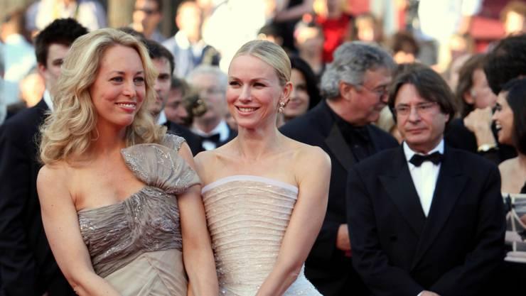 Valerie Plame (l.) am Filmfestival in Cannes mit Naomi Watts, die sie in «Fair Game» darstellt. Keystone