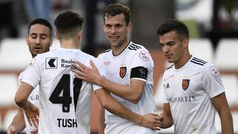 FC Basel gewinnt 2:1 gegen Puskás Akadémika.