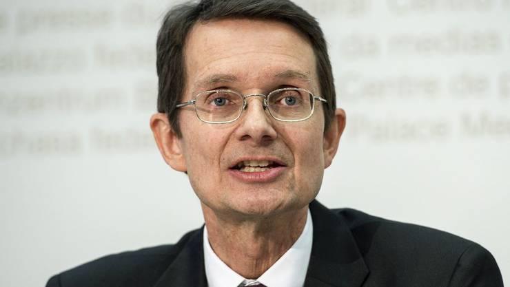 Thomas Ernst, Vorsitzender der Geschäftsleitung Nagra