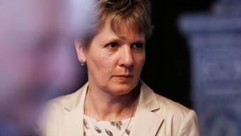 Brigit Wyss, Regierungsratskandidatin der Grünen, hatte im 2. Regierungsratswahlgang vom Sonntag das Nachsehen.Hanspeter Bärtschi