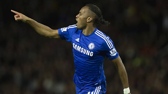 Didier Drogba traf für Chelsea zur zwischenzeitlichen 2:0-Führung
